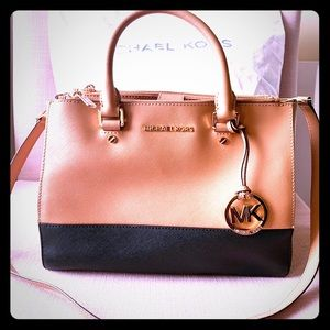 Authentic Michael Kors Sutton Medium Satchel